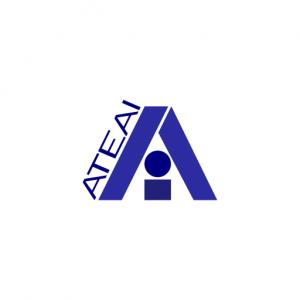 Domain Name: ATEAI.com and its custom vector logo