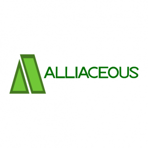 Domain Name: Alliaceous.com and its custom vector logo