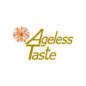 Domain Name: AgelessTaste.com and its custom vector logo