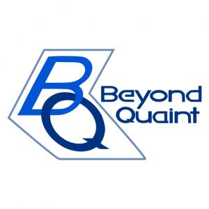 Domain Name: BeyondQuaint.com and its custom vector logo