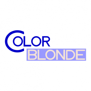 Domain Name: ColorBlonde.com and its custom vector logo