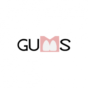 Domain Name: Gums.work and its custom vector logo