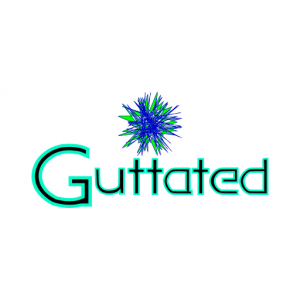 Domain Name: Guttated.com and its custom vector logo