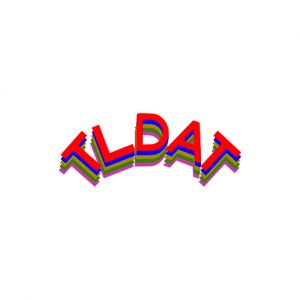Domain Name: TLDAT.com and TLDAT.net and their custom vector logo
