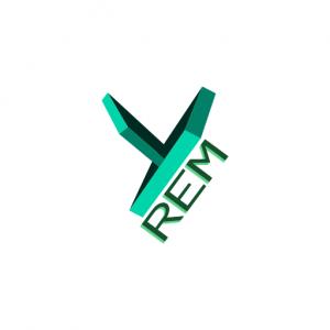 Domain Name: YREM.org and its custom vector logo